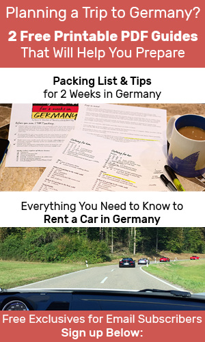 Planning a Trip to Germany? 2 Free Printable PDF Guides That Will Help You Prepare