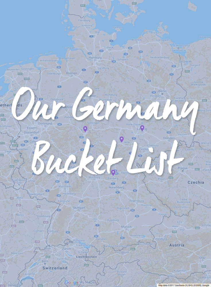 Our Germany Bucket List