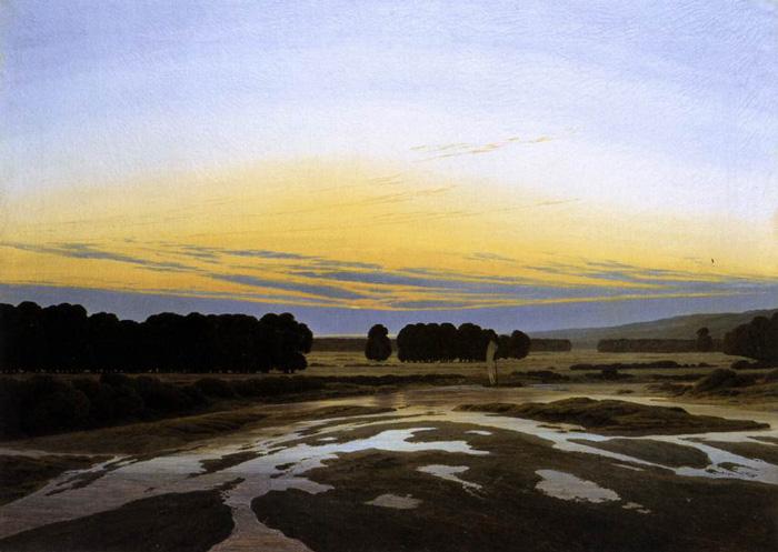 Caspar David Friedrich' Das Große Gehege bei Dresden • Galerie Neue Meister, Staatliche Kunstsammlungen Dresden