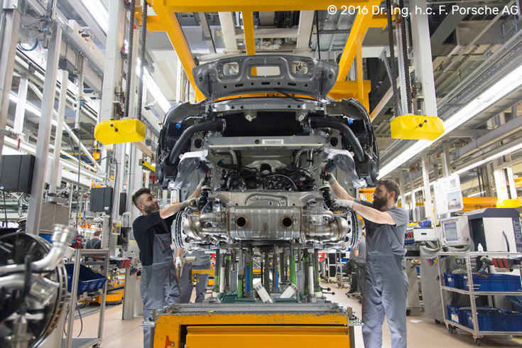 © 2016 Dr. Ing. h.c. F. Porsche AG | Porsche Factory Production Line