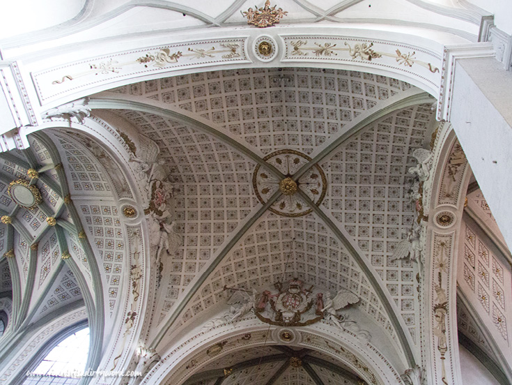 Baroque-Style Ceiling at Muenster Unserer Lieben Frau | Cathedral of Our Dear Lady, Konstanz, Germany