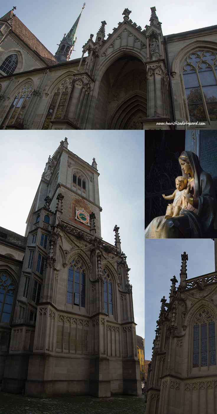 Exterior of Muenster Unserer Lieben Frau | Cathedral of Our Dear Lady, Konstanz, Germany