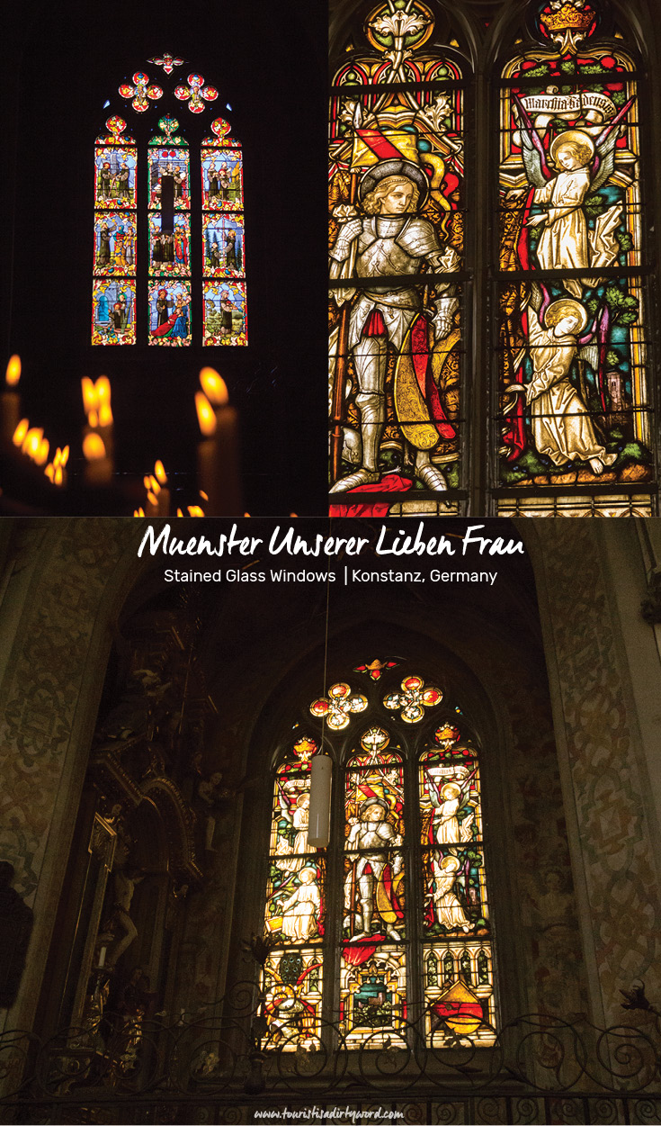 Stained Glass Windows at Muenster Unserer Lieben Frau | Cathedral of Our Dear Lady, Konstanz, Germany