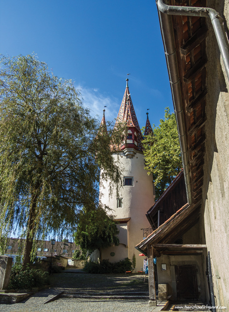 Thieves Tower, by St. Peter's Church in Lindau, Germany
