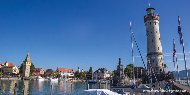 Lindau Harbor with Lighthouse and Tower | Germany