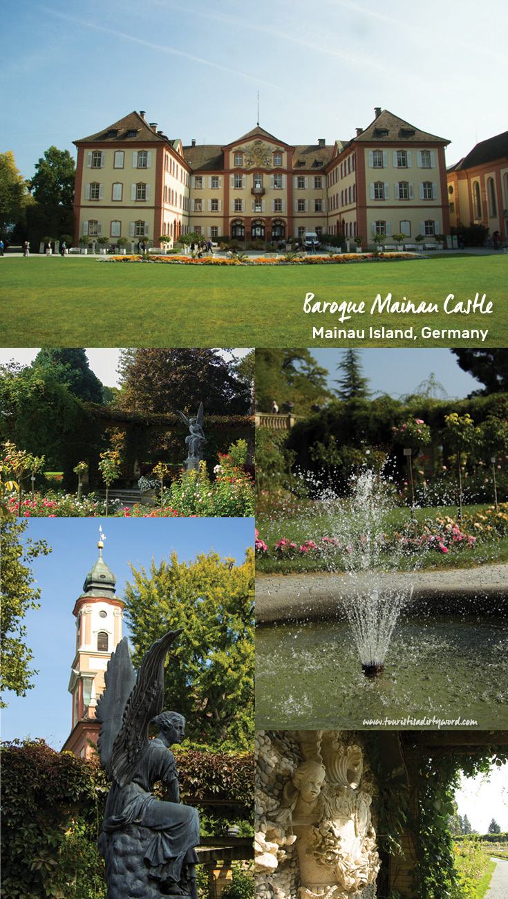 13th-century Baroque palace and church | Italian rose garden | Mainau Island, Germany