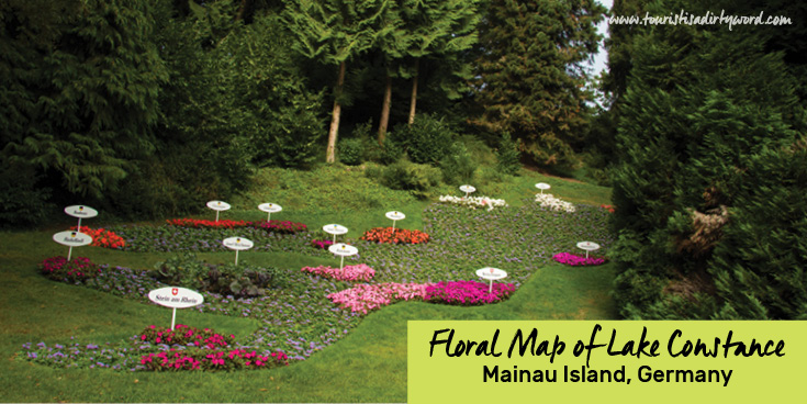Floral Map of Lake Constance