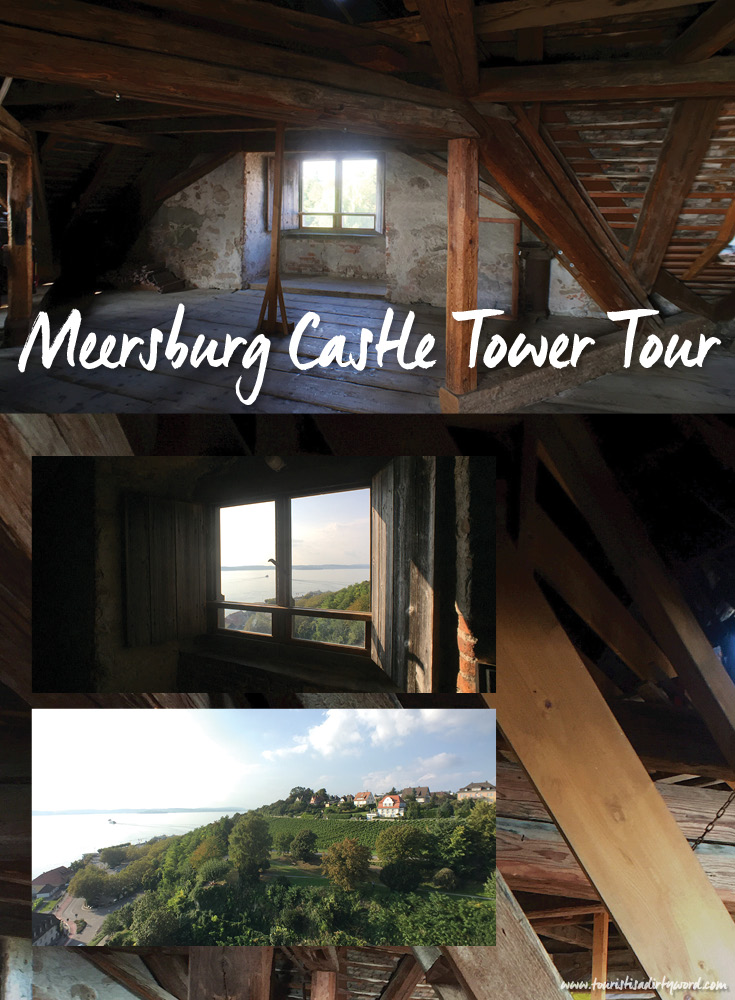 The highest lookout of Germany's Oldest Castle, Meersburg Castle