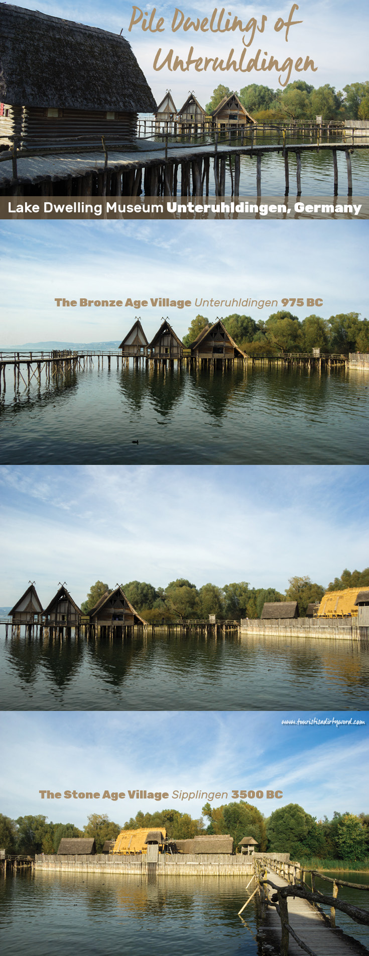 Reconstructed Pile Dwellings of Unteruhldingen at the Open-Air Lake Dwelling Museum | Germany