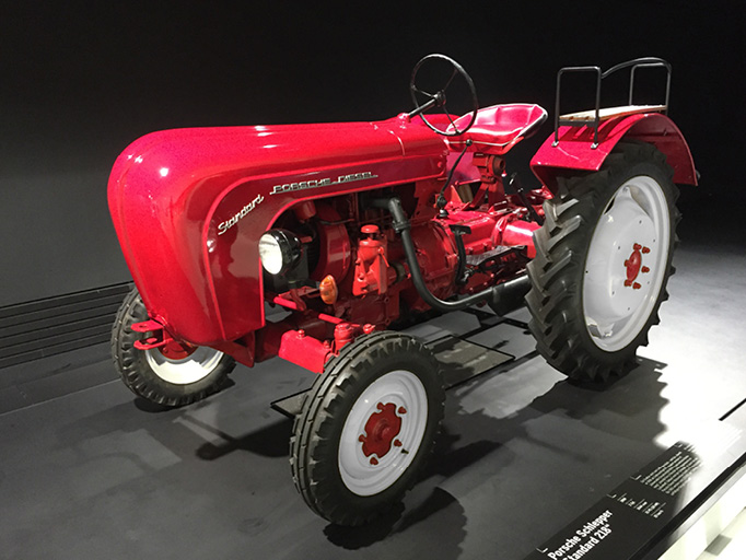 Porsche Tractor at the Porsche Museum Workshop & Historical Archive