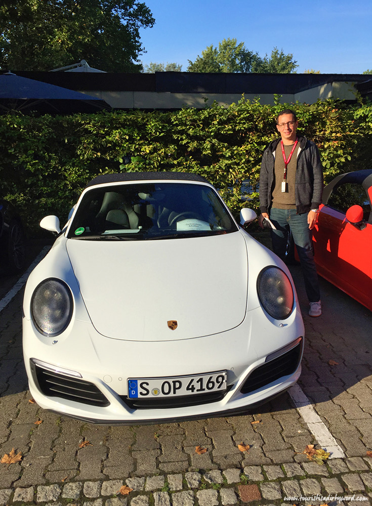 My porsche for the day | Ultimate Porsche Driving Experience in Germany
