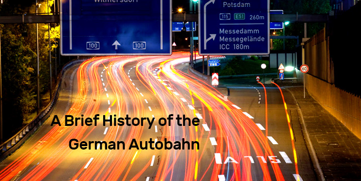 A Brief History of the German Autobahn : Photo by Sebastian Niedlich via Flickr (CC BY-NC-SA 2.0)