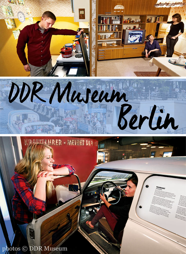 The wonderfully visceral experience at the DDR Museum in Berlin