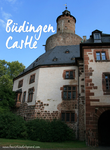 Buedingen Castle: Family Photos Beside Medieval Murals