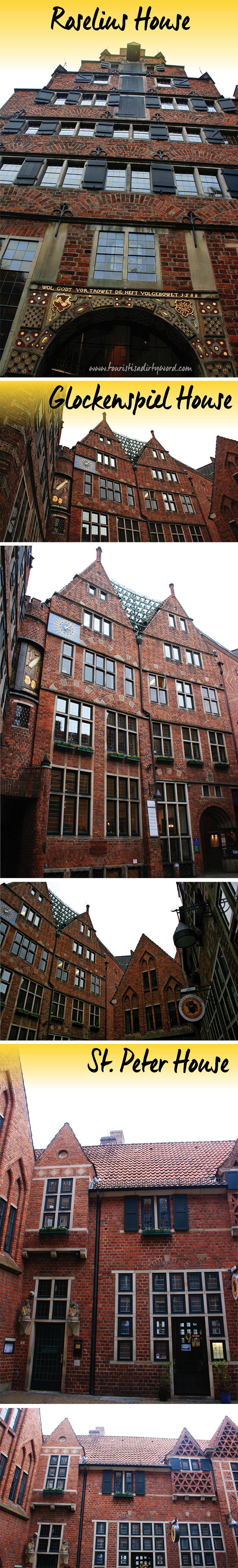 Strolling Böttcherstrasse Bremen • Roselius House, Glockenspiel House & St. Peter House • Bremen, Germany