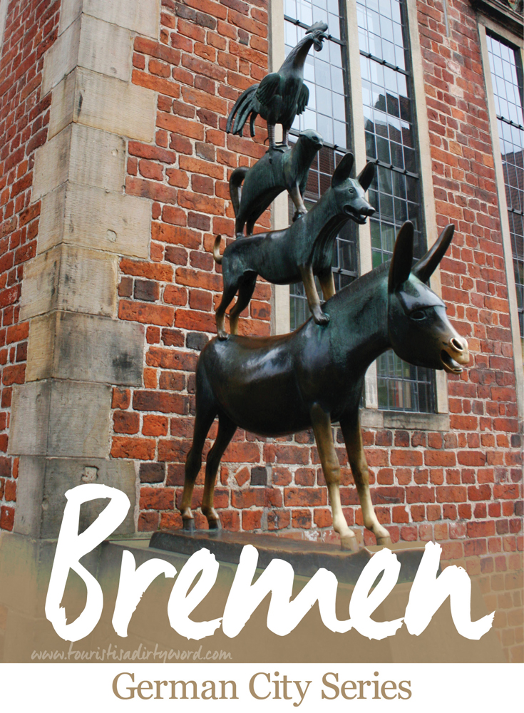 Upon learning that Bremen was in fact the namesake for the Bremen Town Musicians, I couldn't resist investigating this German town. Nestled on the river Weser, this Hanseatic destination is full of surprises.