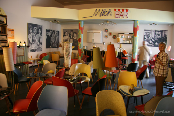 Milch Bar in the Museum of the 50's, Büdingen, Germany | Oma says hi