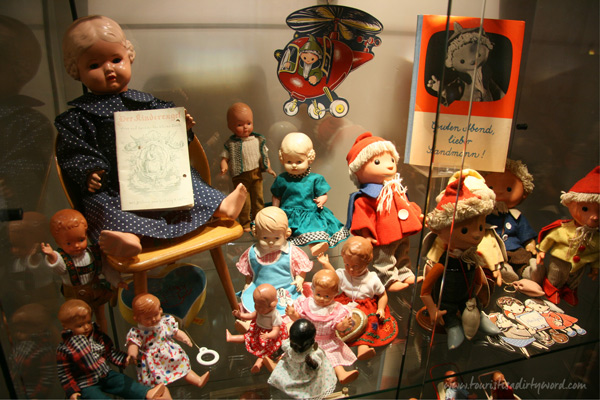 At the Museum of the 50s, there's a room dedicated to German toys. Büdingen, Germany
