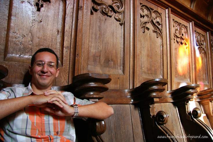 Buedingen Castle Chapel Wooden Choir Stalls