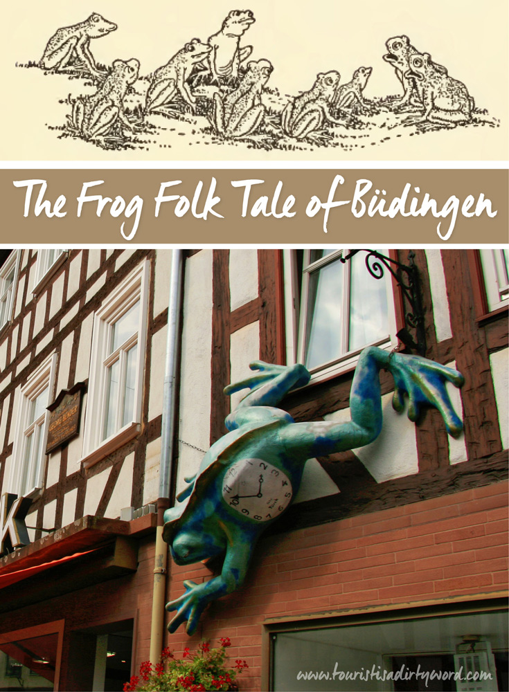 The Frog Folk Tale of Büdingen | Why there are frog sculptures throughout Buedingen