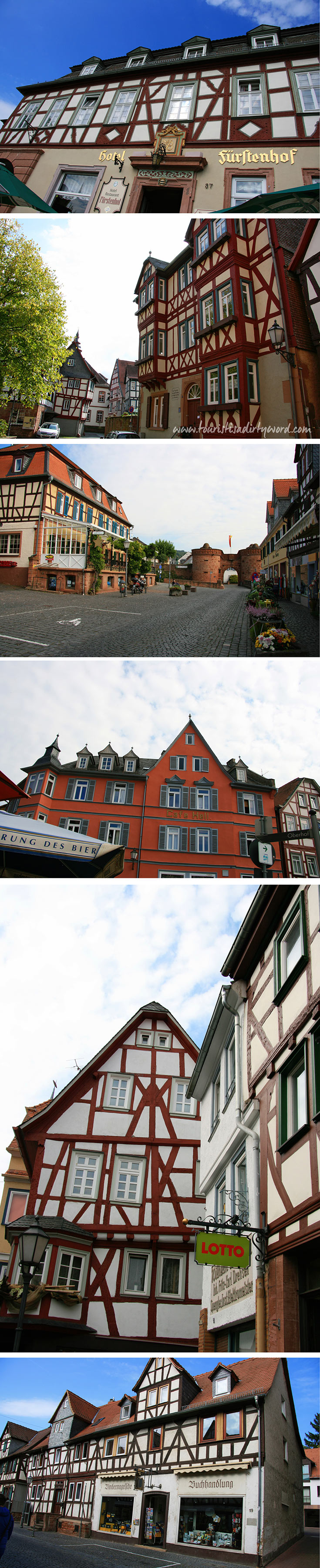 Discover the Half-timbered Houses in Buedingen, Germany
