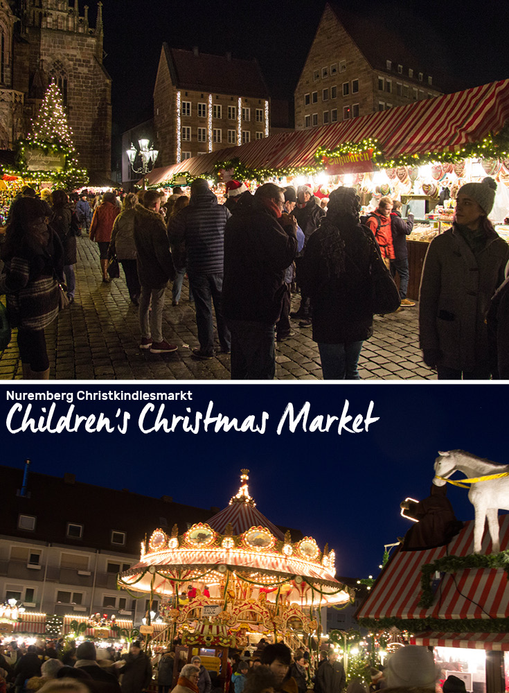 Nuremberg Christkindlesmarkt offers a separate Children's Christmas Market and Global Market