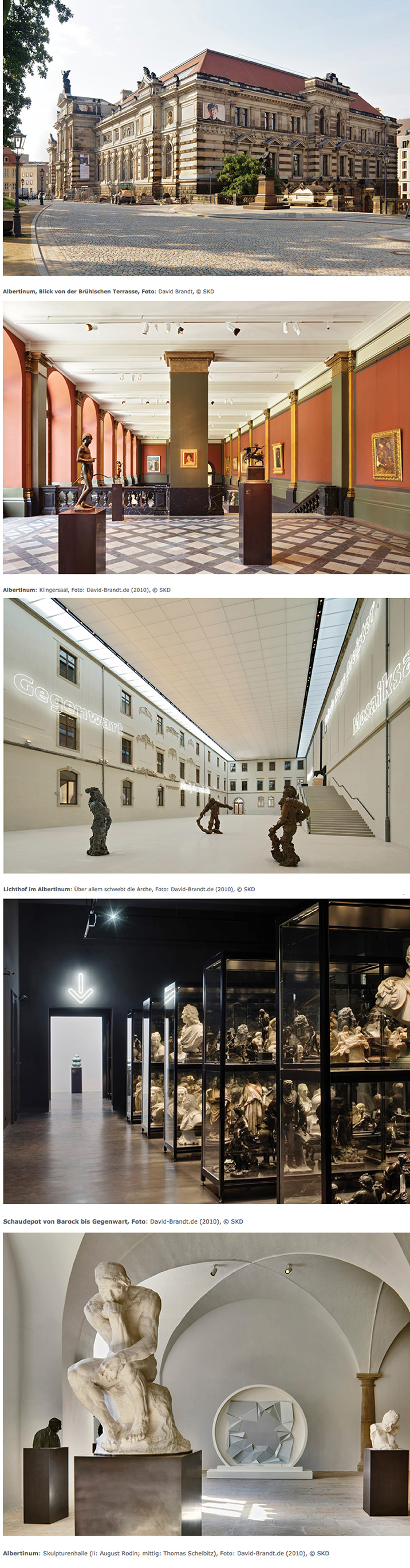 Official photos of the Albertinum Museum • Staatliche Kunstsammlung Dresden • by David Brandt