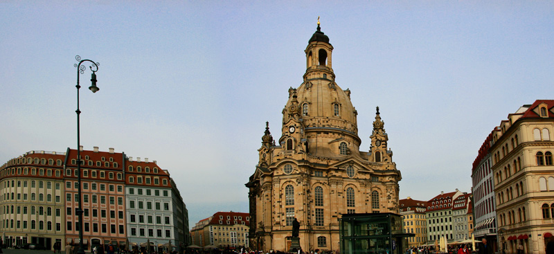 The Frauenkirche Dresden • Germany Travel • Tourist is a Dirty Word