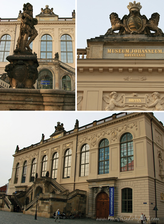 Johanneum, the home of the Dresden Transport Museum, Verkerhsmuseum | Photos by Tourist is a Dirty Word