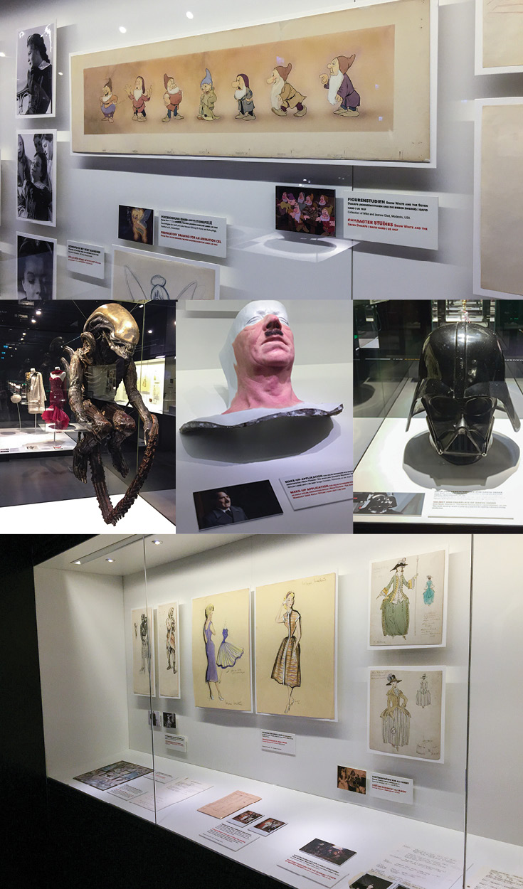 Animation Cells, Movie Props, Costume Design and More Exhibited at the Frankfurt Deutsches Filmmuseum