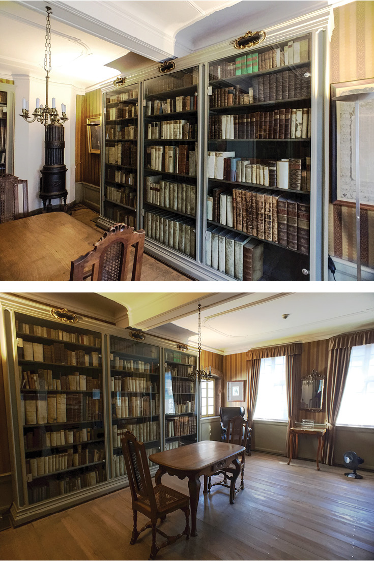 Goethe's Father's Library is scandalized by the idea of ebooks, and suspicious as to why they're locked up! | Goethe House Frankfurt