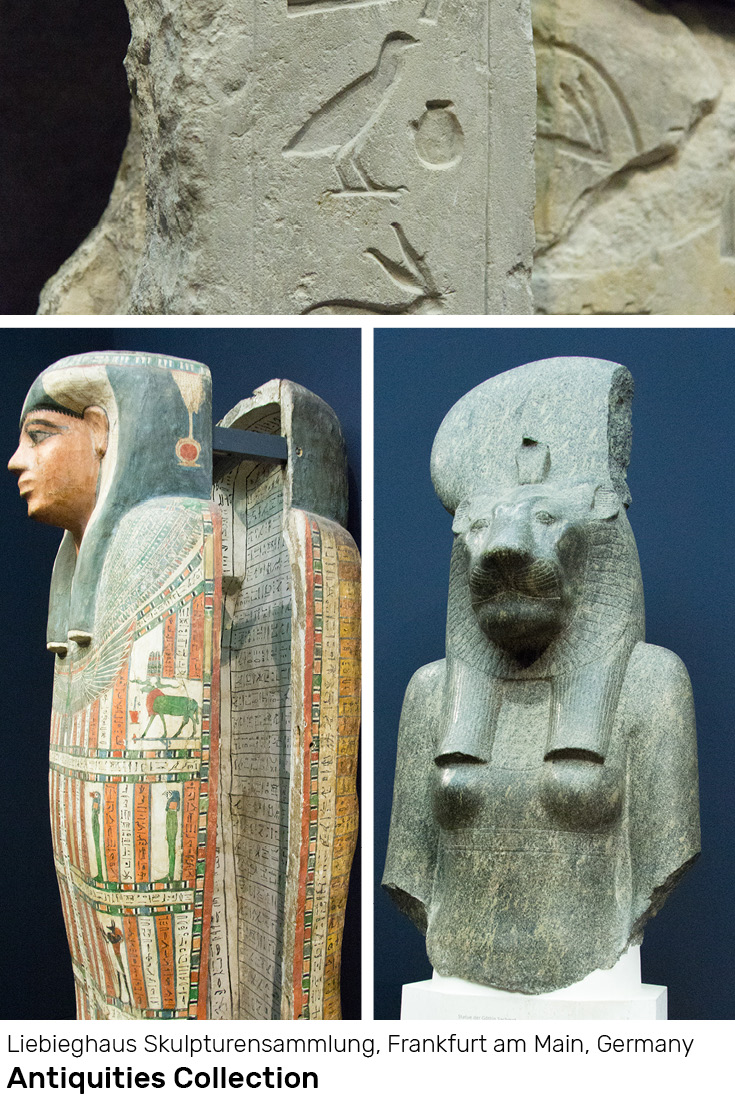Egyptian Antiquities Collection at the Liebieghaus Skulpturensammlung, Frankfurt am Main, Germany