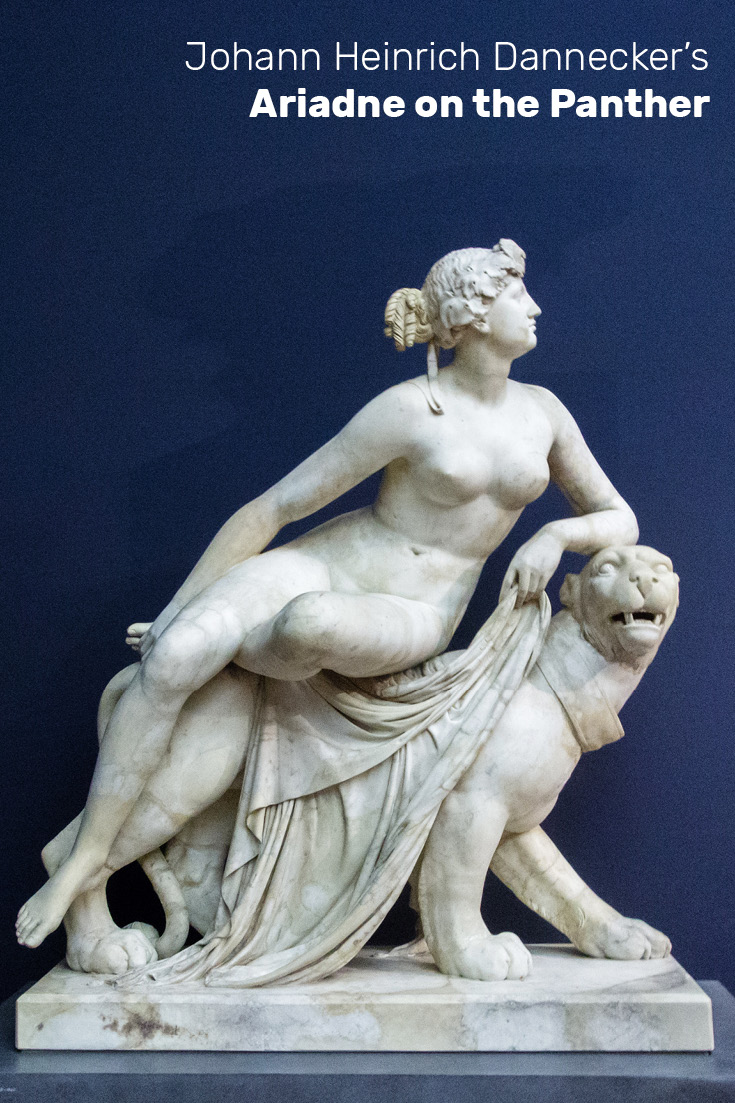 Johann Heinrich Dannecker's Ariadne on the Panther in the Liebieghaus Skulpturensammlung, Frankfurt am Main, Germany