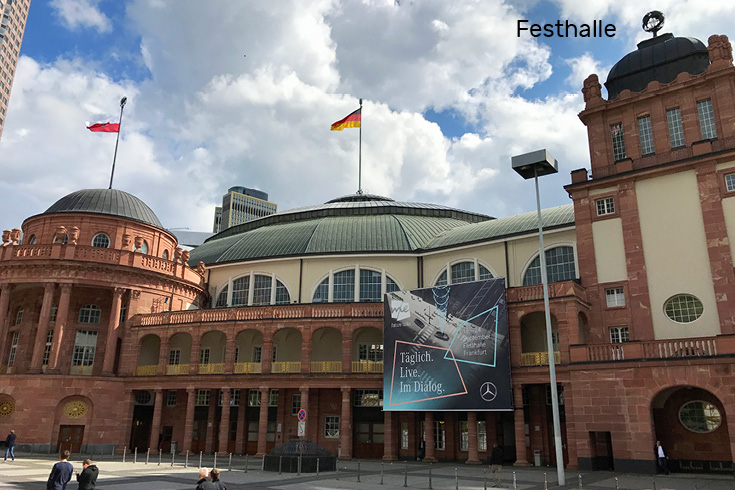 2017 International Automobile Exhibition Festhalle in Frankfurt am Main