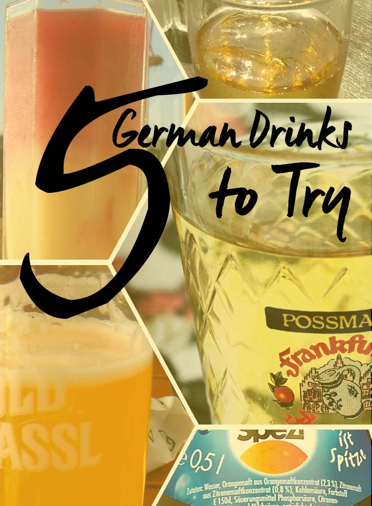 5 German Drinks to Try • Germany Travel Tips • Written by Tourist is a Dirty Word