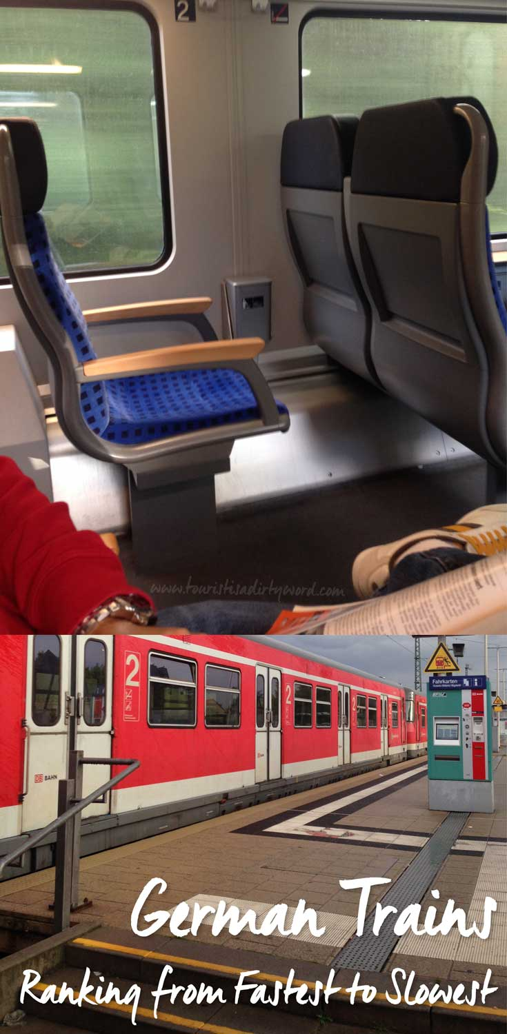 German Trains: Ranking from Fastest to Slowest • German Travel by Tourist is a Dirty Word Blog