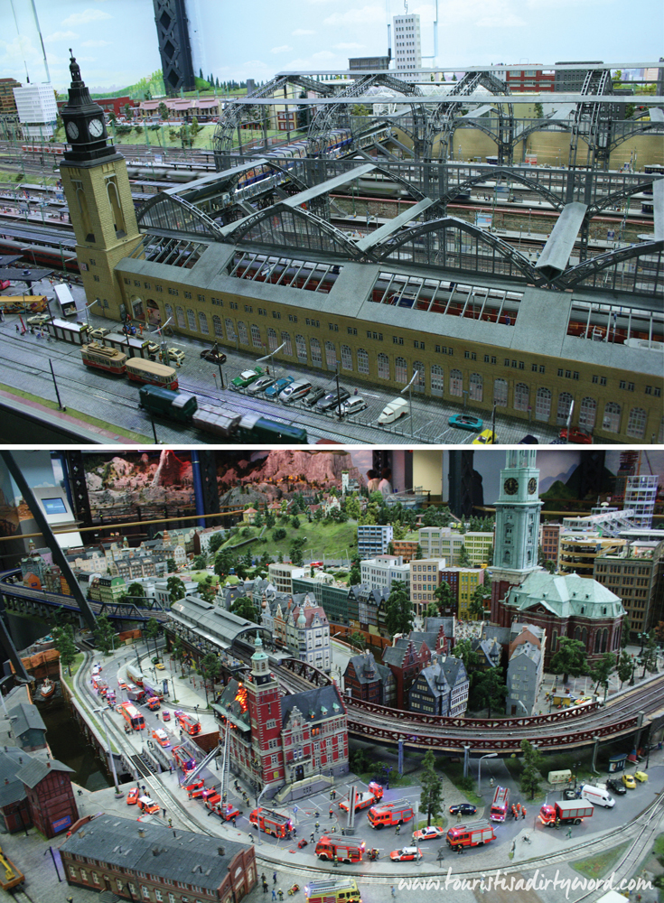Hamburg scene at the Miniatur Wunderland • Germany Travel Blog Tourist is a Dirty Word