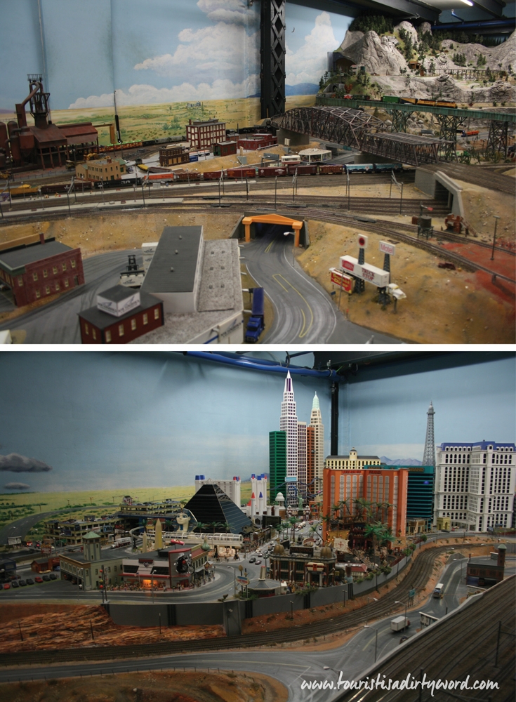 Las Vegas scene at the Miniatur Wunderland, Hamburg • Germany Travel Blog Tourist is a Dirty Word