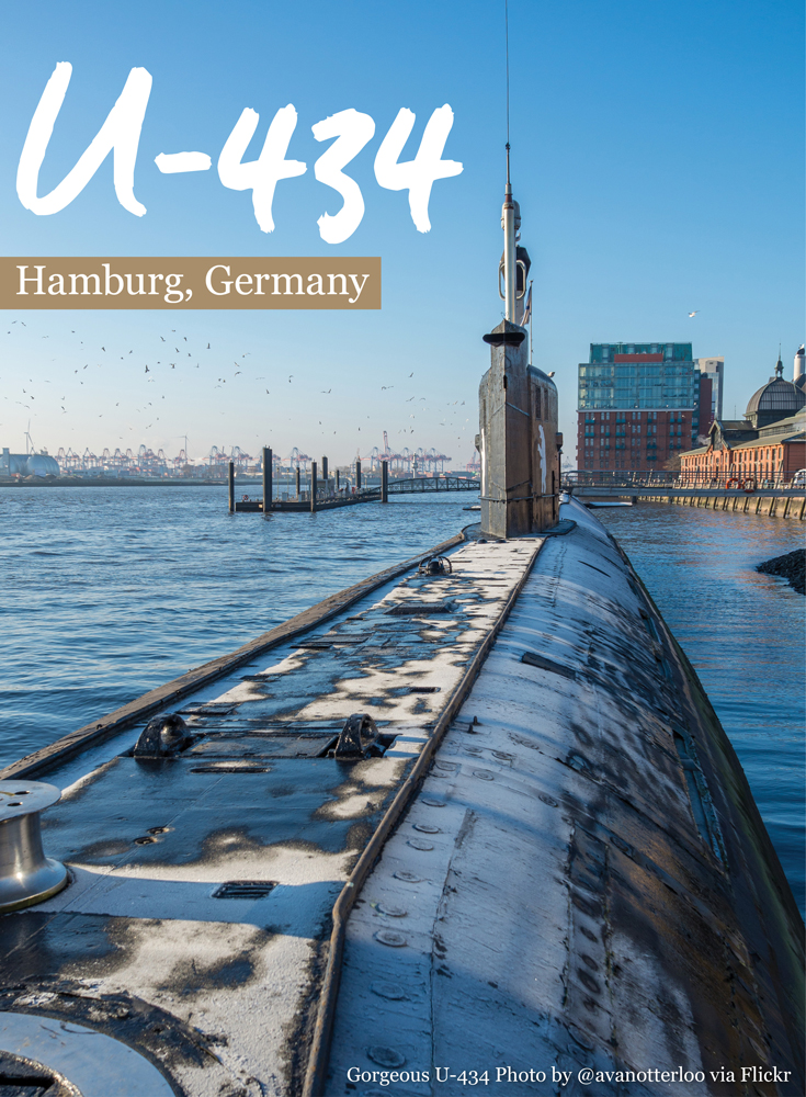 Climb into the U-434 in Hamburg and explore a 1976 Soviet submarine • Germany Travel Blog Tourist is a Dirty Word