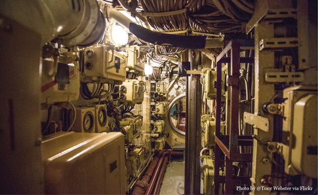 U-434 Inside Photo by Flickr User Tony Webster • Experience visiting the U-434 Submarine in Hamburg Germany