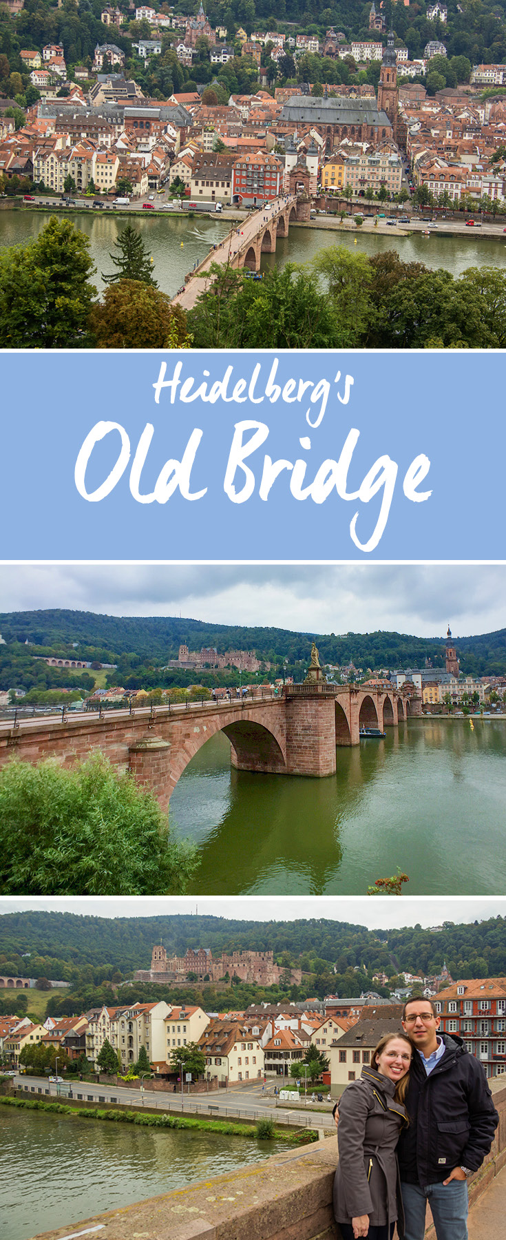 Heidelberg's Old Bridge from various vantage points | Heidelberg, Germany