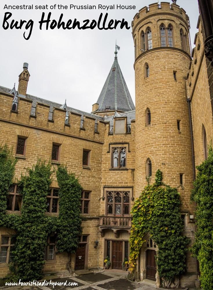 Inner courtyard of Burg Hohenzollern