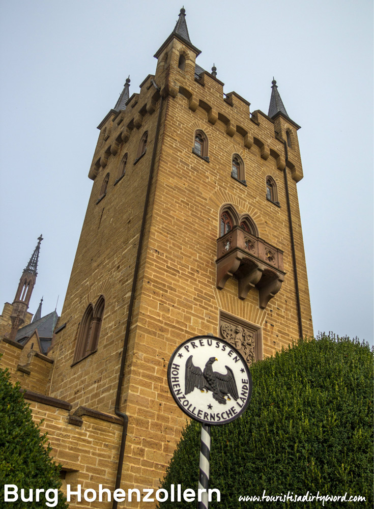 Burg Hohenzollern's Gate Tower