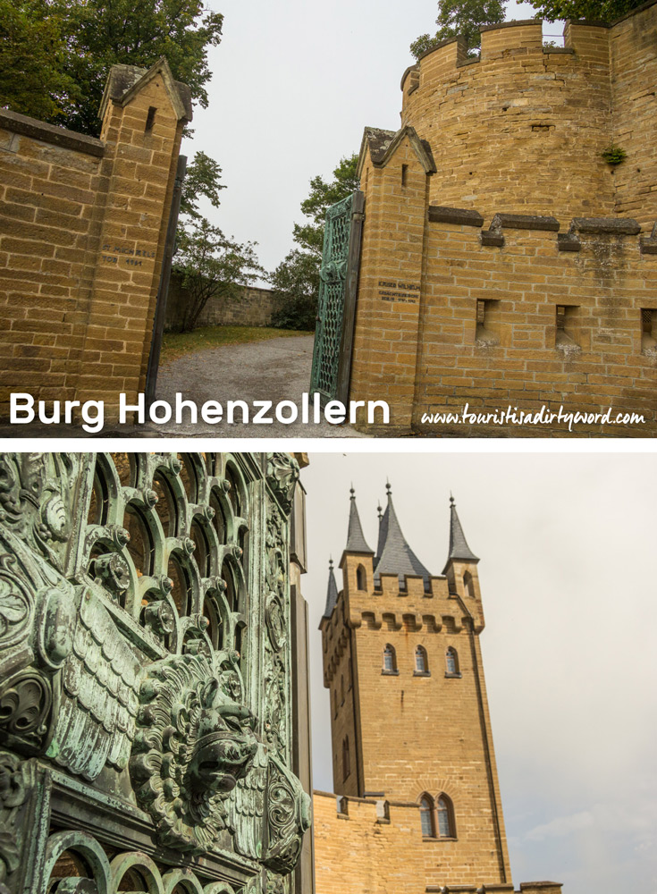 Iron Gate and Gate Tower | Burg Hohenzollern