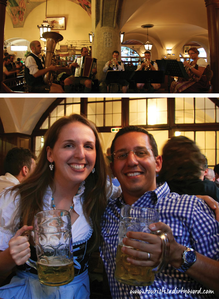 Hofbräuhaus, Munich • Be prepared to sing along with everyone in the restaurant! • Tourist is a Dirty Word Germany Travel Blog