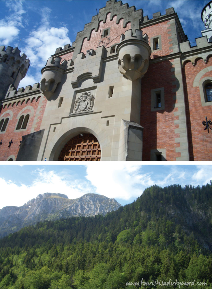 Neuschwanstein Castle Gate House and Tegelberg • Germany Travel Blog Tourist is a Dirty Word