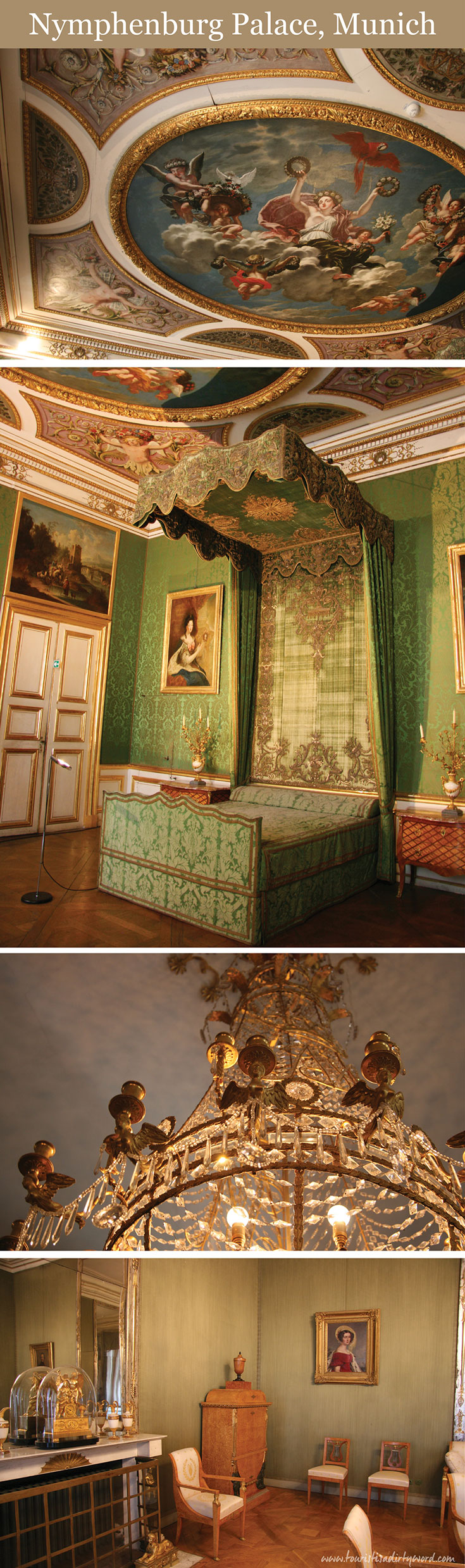 Nymphenburg Palace Bedrooms, Munich • Germany Travel Blog Tourist is a Dirty Word
