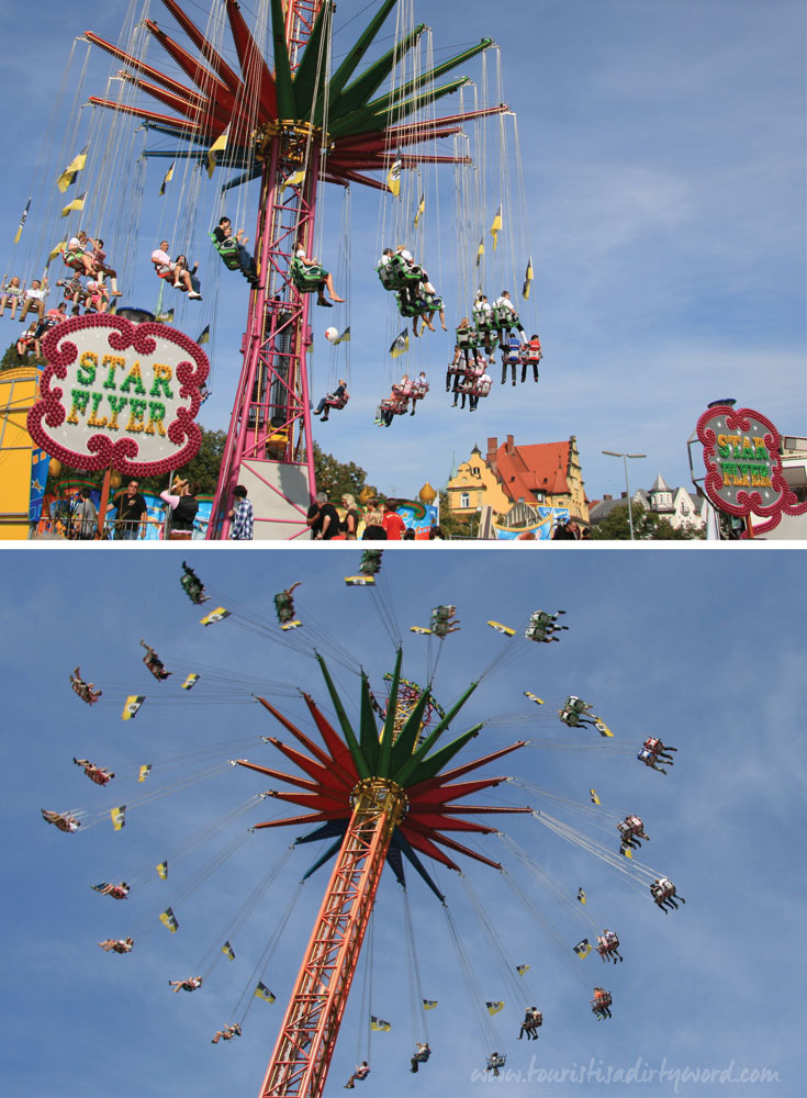 Munich Oktoberfest Amusement Rides