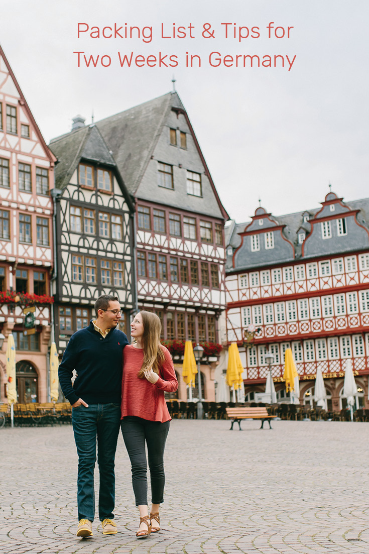 We've designed a 4-page, printable, downloadable packing list for two weeks in Germany. Loaded with little nuggets of wisdom learned from over 10 years of culture hopping as a married couple of two countries, Germany and the United States.
