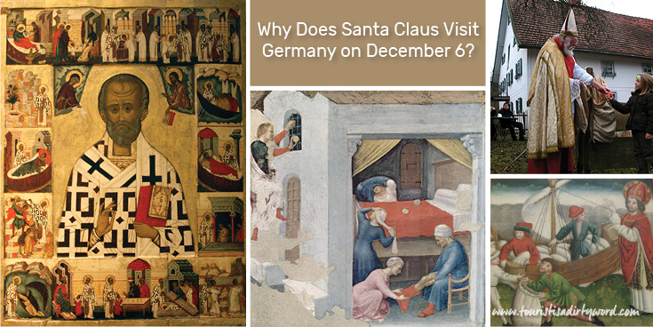 Why Santa Claus Visits on December 6th in Germany? An explanation on Nikolaus, or Nikolaustag, named after Saint Nicholas